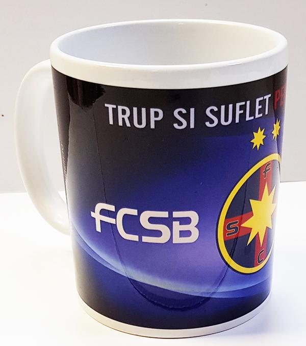 Cana Trup si Suflet Pentru Culori produs oficial sub licenta FCSB