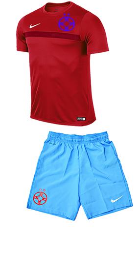 Echipament fotbal copii R/A produs sub licenta FCSB