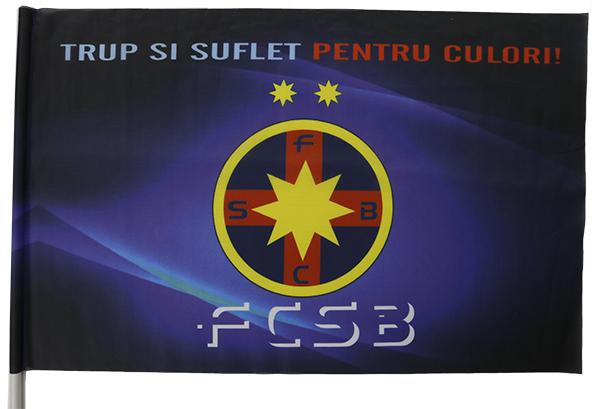 Steag cu bat produs sub licenta FCSB