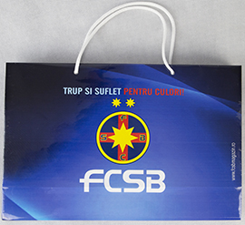 Punga cadou lanscape produs oficial sub licenta FCSB