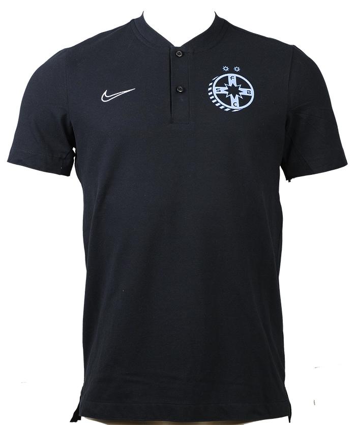 Tricou FCSB negru  prezentare rezentare produs oficial sub licenta FCSB