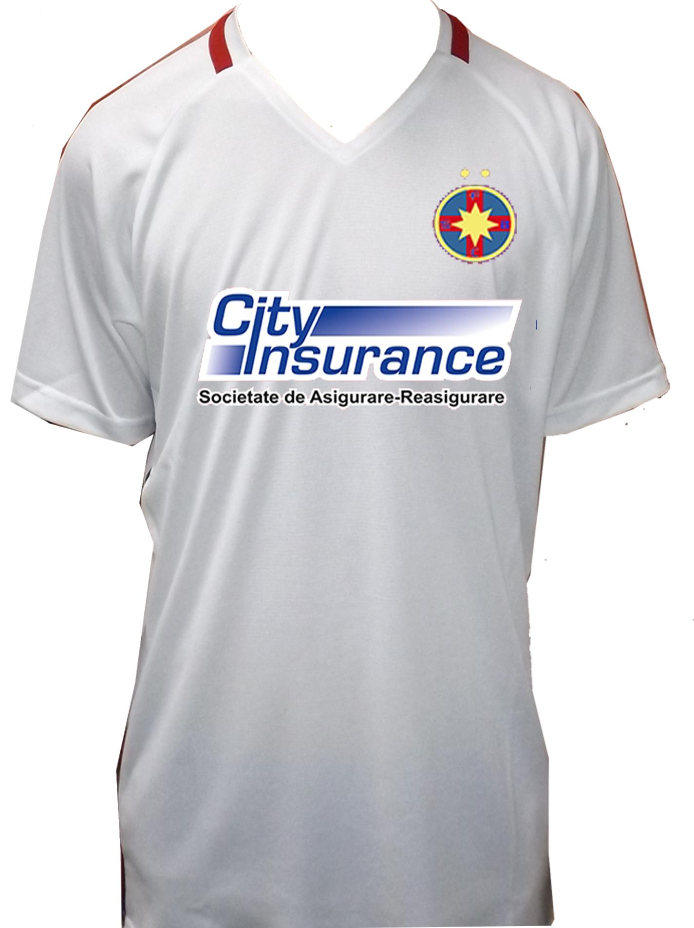 Tricou Replica Alb pentru copii produs sub licenta FCSB