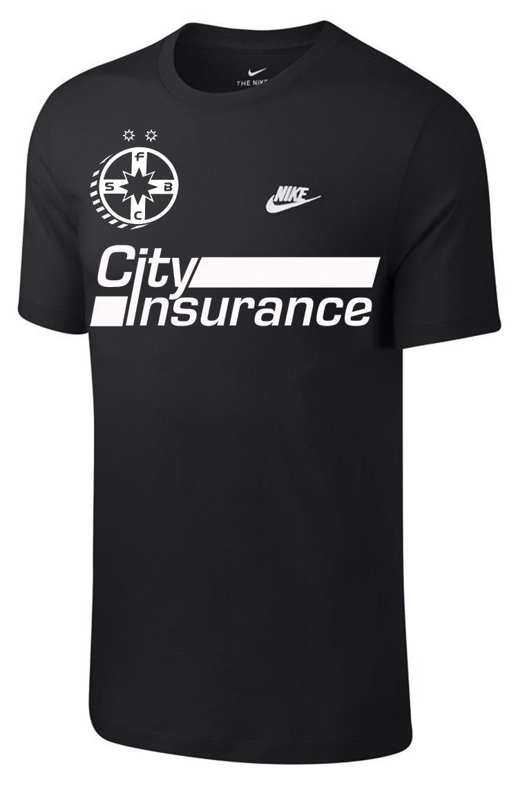 Tricou FCSB Nike pentru  antrenament produs oficial sub licenta FCSB