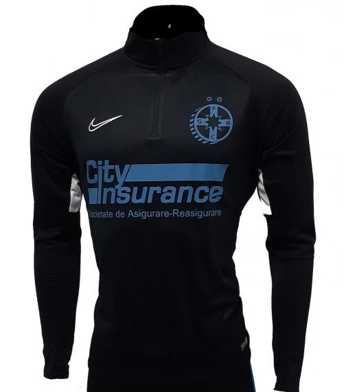 Bluza Antrenament Negra Nike produs sub licenta FCSB